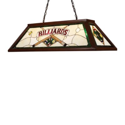 Elk Lighting Tiffany Game Room/ Billiard/Island Light in Dark Mahogany