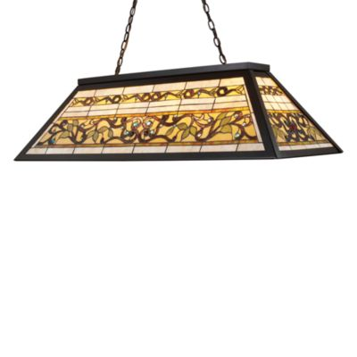 ELK Lighting Buckingham Tiffany 4-Light Deco Island/Billiard Light in Tiffany Bronze