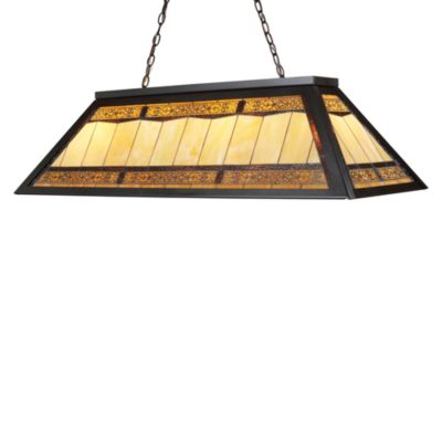Elk Lighting Tiffany 4-Lght Billiard/Island Light in Tiffany Bronze