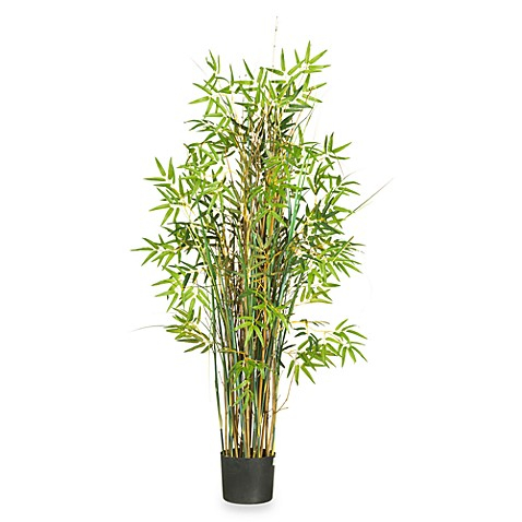 Nearly Natural 5' Bamboo Grass Silk Plant