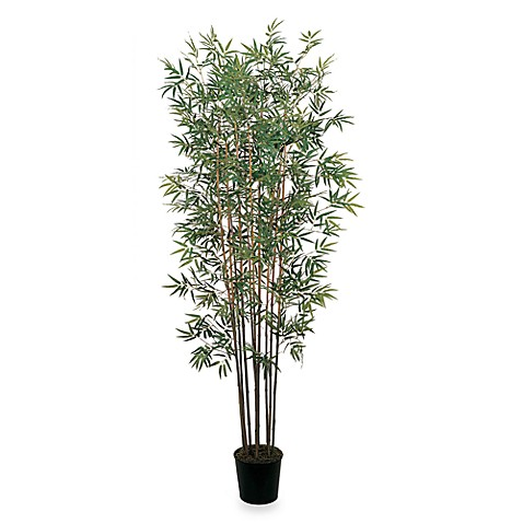 Nearly Natural 6' Mini Silk Bamboo Tree