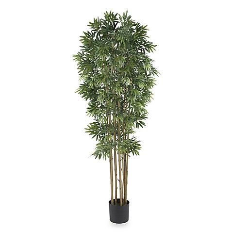 Nearly Natural 6' Bamboo Japanica Silk Tree