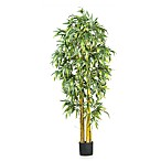 Nearly Natural 6-Foot Big Bamboo Silk Tree