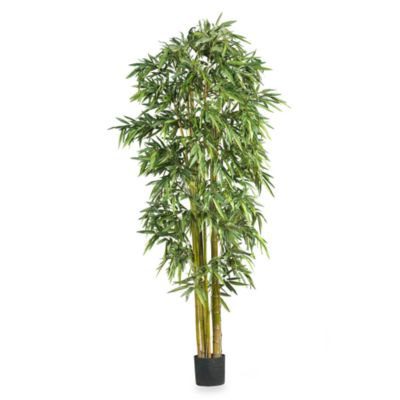 Nearly Natural 7-Foot Big Bamboo Silk Tree