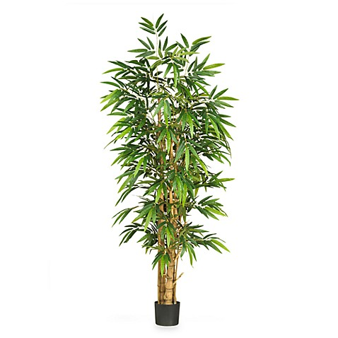Nearly Natural 6' Buddha's Belly Bamboo Silk Tree