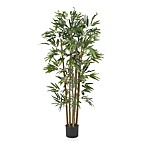 Nearly Natural 4' Multi-Bambusa Bamboo Silk Tree