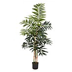 Nearly Natural 4-Foot Bamboo Palm Silk Tree