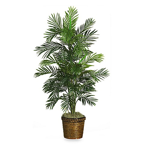 Nearly Natural Areca 56-Inch Faux Silk Palm Plant