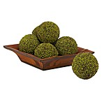 Nearly Natural 4-Inch Berry Balls (Set of 6)