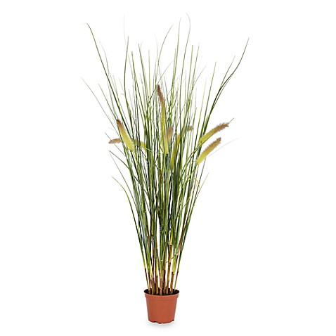 Nearly Natural 2.5' Faux Grass Plant
