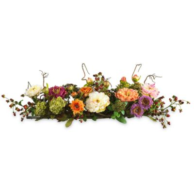 Floral Dining Room Centerpieces