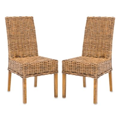 Set of 2 Brown Side Chair