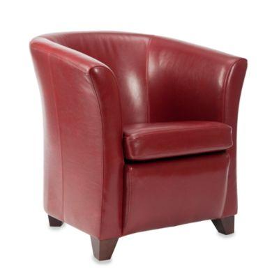 Safavieh Lorraine Tub Chair in Mulberry