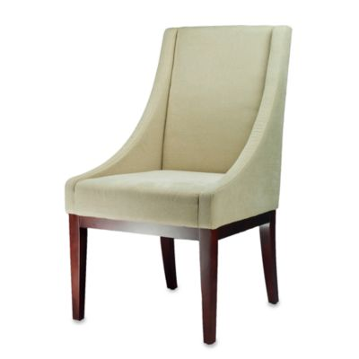 Safavieh Creme Fabric Sloping Arm Chair