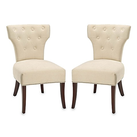 Safavieh Broome Side Chair in Cream (Set of 2)