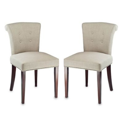 Safavieh Arion Chairs in Sand (Set of 2)