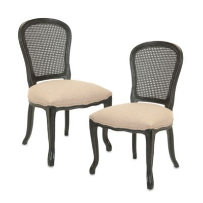 Safavieh Lucy Side Chairs in Sand (Set of 2)