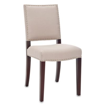 Safavieh James Side Chairs in Cream (Set of 2)