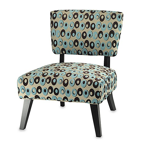 Safavieh Christine Chair in Turquoise and Brown