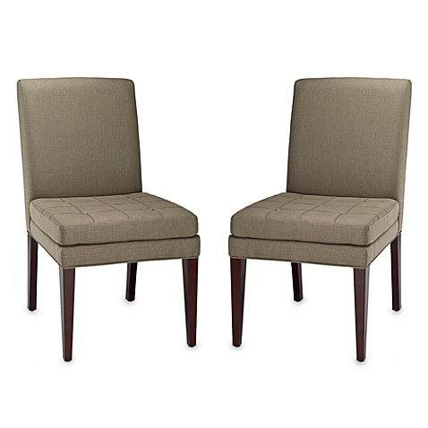Safavieh Cole Side Chair in Olive (Set of 2)