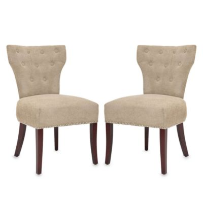 Safavieh Broome Side Chair in Sage (Set of 2)