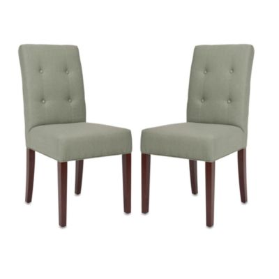 Safavieh Saxton Side Chair - Gray (Set of 2)