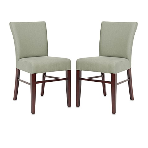 Safavieh Teagon Side Chairs in Grey (Set of 2)