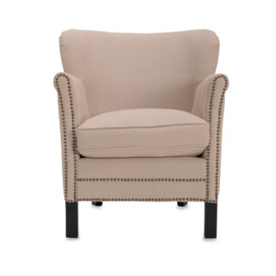 Safavieh Jenny Arm Chair in Beige