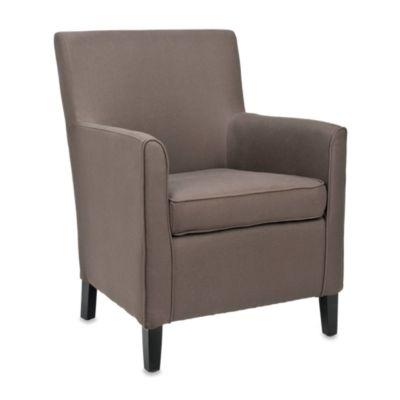 Safavieh Chet Arm Chair in Brown