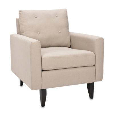 Safavieh Caleb Club Chair in Beige