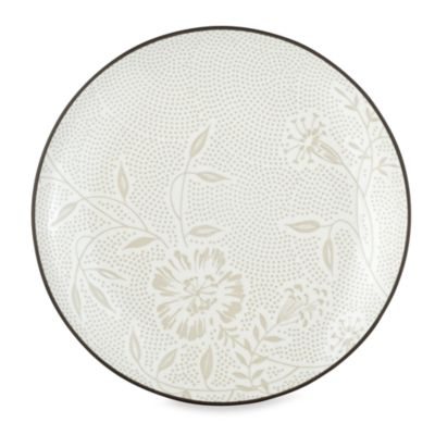 Noritake Colorwave Graphite Bloom 8 1/4-Inch Coupe Salad Plate