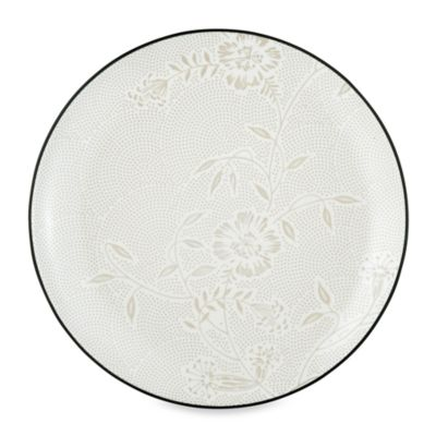Noritake® Colorwave Graphite Bloom 10 1/2-Inch Dinner Plate