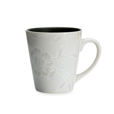 Noritake Colorwave Graphite Bloom 12-Ounce Mug