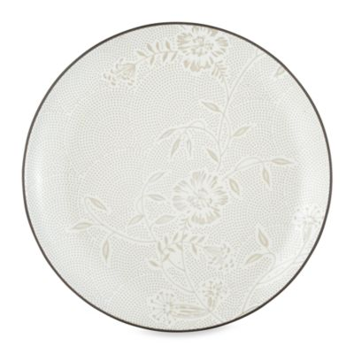 Noritake Colorwave Chocolate Bloom 10 1/2-Inch Dinner Plate