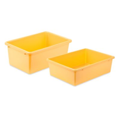 Honey-Can-Do® Small Plastic Storage Bin in Yellow