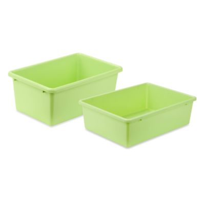 Honey-Can-Do™ Plastic Storage Bin in Light Green