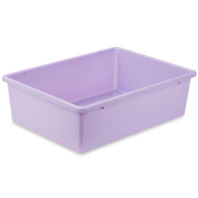 Purple Plastic Storage