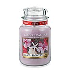 Yankee Candle® Housewarmer® Beach Flowers™ Large Classic Candle Jar