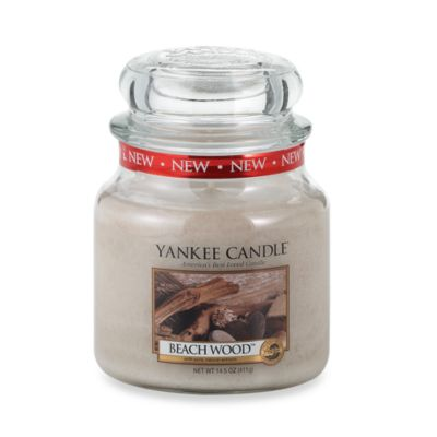 Yankee Candle® Housewarmer® Beach Wood™ Medium Classic Candle Jar