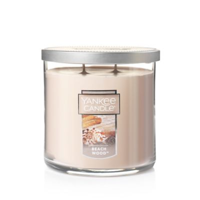 Yankee Candle® Housewarmer® Beach Wood™ Medium Lidded Candle Tumbler