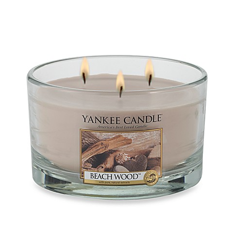 Yankee Candle® Housewarmer® Beach Wood™ 3 Wick Candle