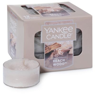 Yankee Candle® Housewarmer® Beach Wood™ Tea Light Accent Candles (Box of 12)