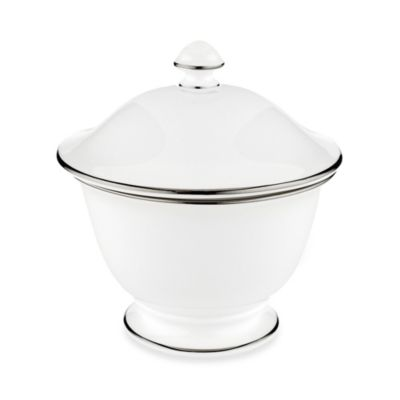 Lenox® Continental Dining Platinum Covered Sugar Bowl