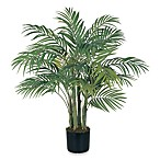 Nearly Natural Areca Palm 3-Foot Silk Tree with 7 Trunks