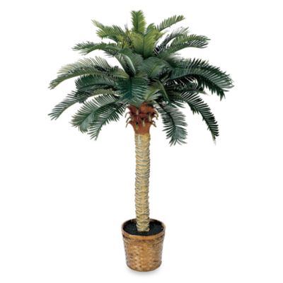 Nearly Natural Sago Palm 4-Foot Silk Tree