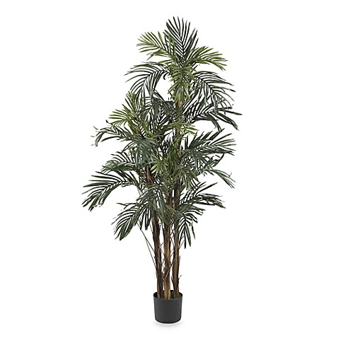 Nearly Natural Robellini Palm 5' Silk Tree