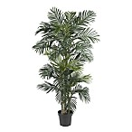 Nearly Natural Golden Cane Palm 6 1/2-Foot Silk Tree