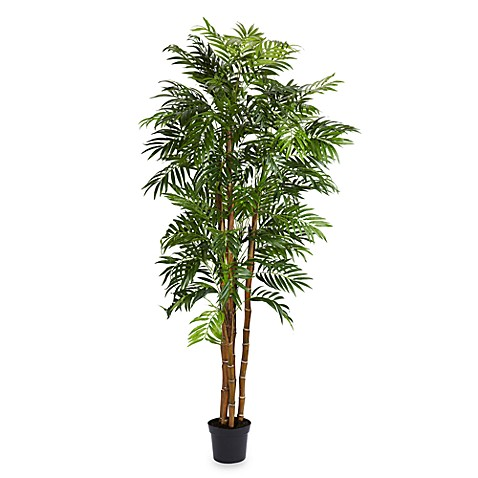 Nearly Natural Bella Palm 6' Silk Tree