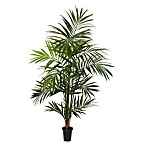 Nearly Natural Kentia Palm 7-Foot Silk Tree with 13 Fronds