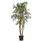 Nearly Natural 5-Foot Wisteria Silk Tree